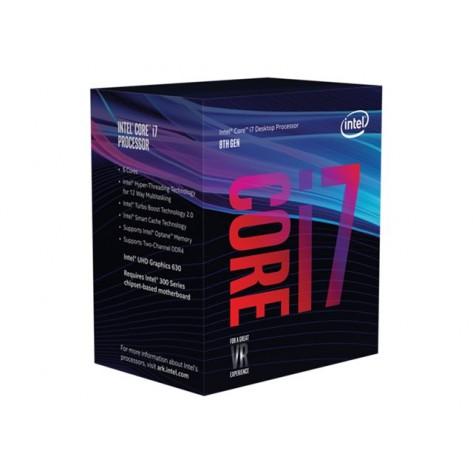 Intel Core i7 8700 - 3.2 GHz - 6 cœurs