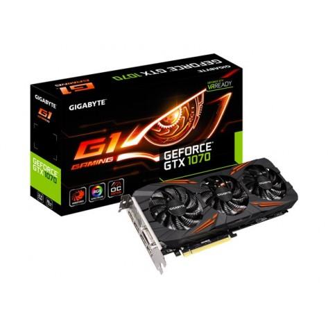 Carte graphique Gigabyte GeForce GTX 1070 G1 Gaming - OC Edition