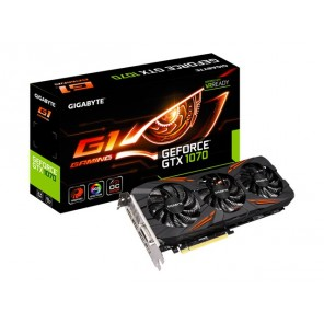Carte graphique Gigabyte GeForce GTX 1070 G1 Gaming - OC Edition